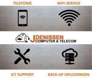 Telefonie wifi ict support